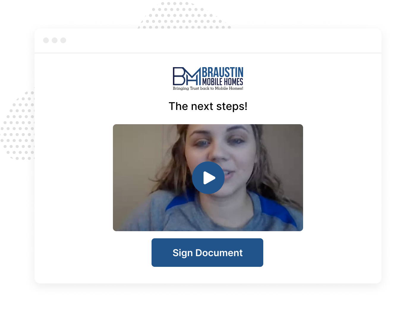 Customer Onboarding Video